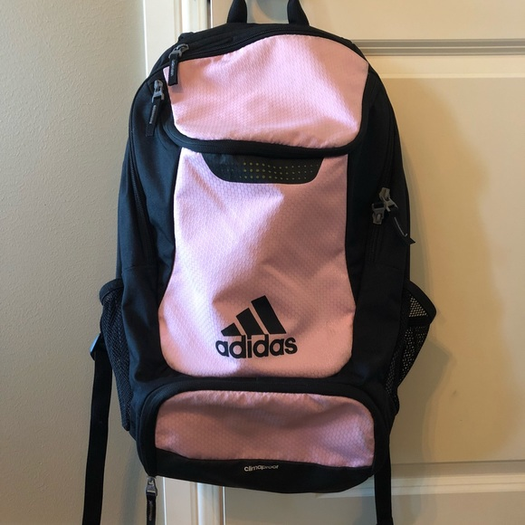 96638add279 ... adidas Bags Pale Pink Stadium Soccer Backpack Poshmark buy good e1ec2  ca79f ...